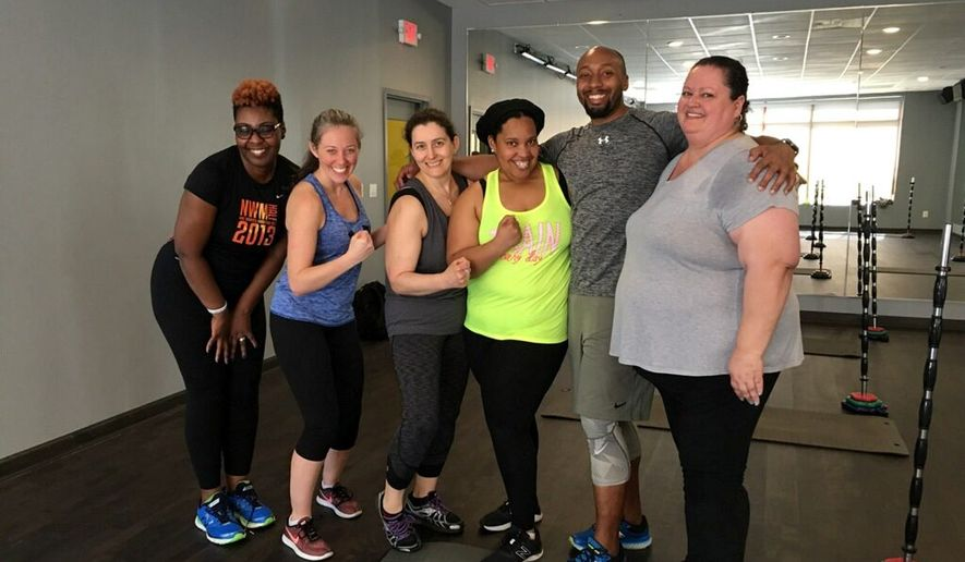 'Black Panther' inspires special workout for women in D.C.